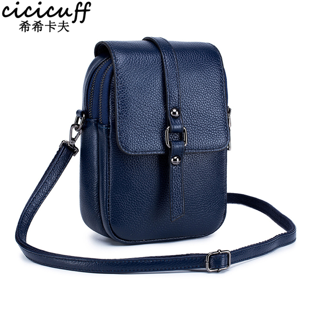 Mobile Phone Bag for Women Phone Pocket Genuine Leather Handbags Shoulder Bag Woman Crossbody Bags Small Bags for Phones Bolsa