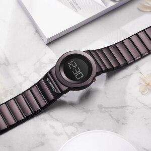 Image 3 - 2020 Kademan Mode Vrouwen Luxe Rvs Quartz Horloges Dames Business Horloge Japanse Quartz Relogio Feminino