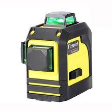 F93TR/F93TG 12 линий 3D красный зеленый лазерный уровень 360 самонивелирующийся перекрестный лазерный луч линия+ приемник+ Магнитный кронштейн