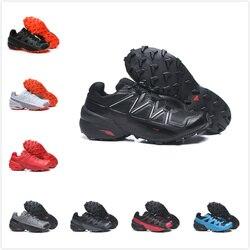 2020 nouvelle vitesse cross 5 CS chaussures décontractées hommes noir et blanc respirant en plein air hommes chaussures taille 36-46
