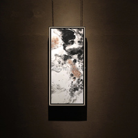New 100% Hand Painted Abstract Wall Art Wall Picture Canvas Black and White Oil Painting Handmade For Living Room Home Decor