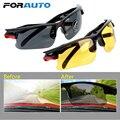 FORAUTO Auto Nachtsicht Treiber Goggles Driving Gläser Schutz Gears Sonnenbrille Nacht Vision Gläser Auto Zubehör-in Fahrer-Brille aus Kraftfahrzeuge und Motorräder bei
