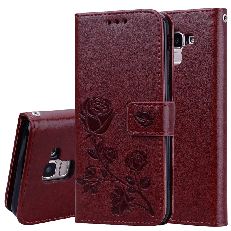 H05a4d3d855da4f5e8526439a9f86c75dK - Rose Flower Leather Case For Samsung Galaxy S8 S9 Plus S7 S6 Edge S5 S3 S4 J3 J5 J7 A3 A5 J1 2016 2017 J2 Grand Prime Flip Cover