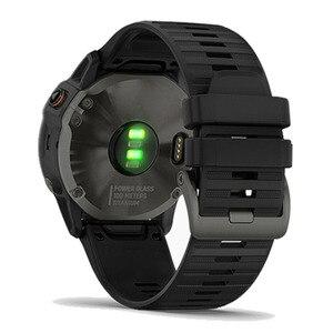 Image 3 - 26, 22, 20 мм, ремешок для смарт часов Garmin Fenix 6X 6 6s Pro 5S плюс 935 3 HR часы, быстросъемный силиконовый легко регулируемый ремешок для наручных часов
