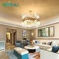 Классический минималистский хрустальная люстра гостиная гостиничный декоративный светильник светильники