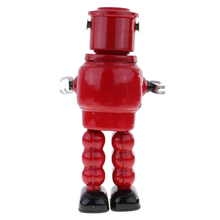 Хорошо спроектированный Заводной Жестяной робот-механизм модель заводная игрушка настольные наборы