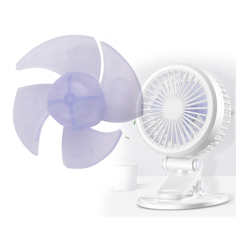 Fan Hair-Dryer Motor Mini Small For Fanner-Accessories 10pcs 4-Leaves Replacement Fan-Blades