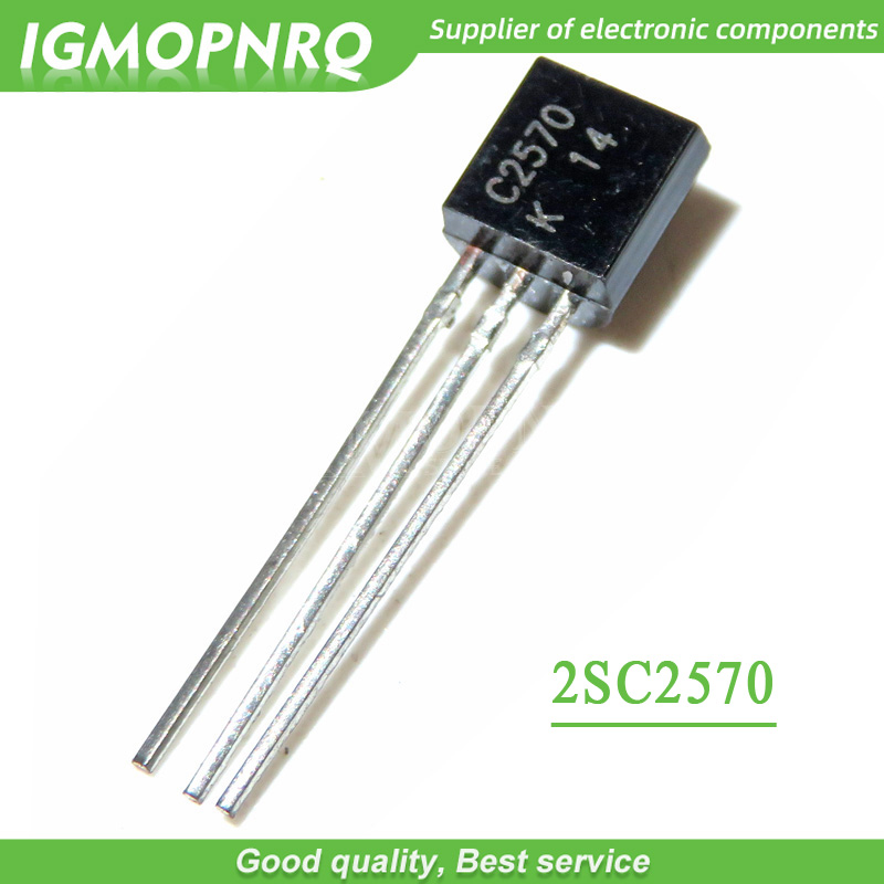10pcs/lot 2SC2570 C2570 TO-92 Transistor-line Large P High Current New Original