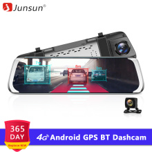 Junsun Camera Mirror Video-Recorder Car Dvr Dash-Cam GPS ADAS Wifi A930 Android Full-Hd