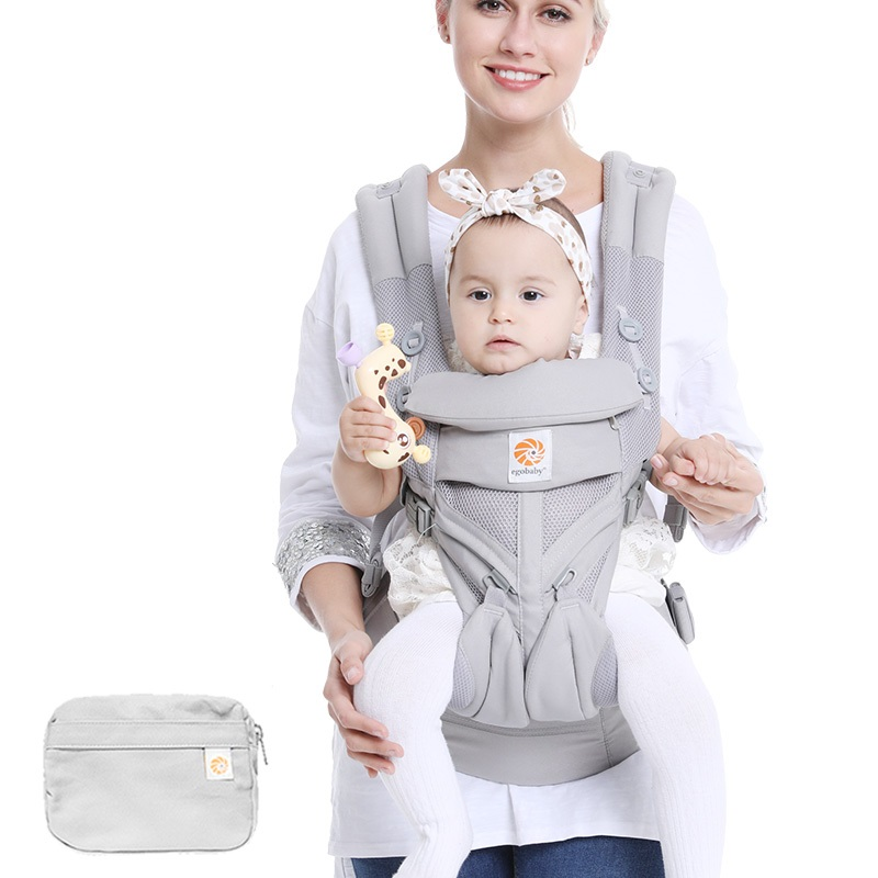 Omni 360 Baby Carrier All Carry Positions Baby Infant Carrier Sling Cool Air Mesh Cotton Four Seasons For Parents Mother Father