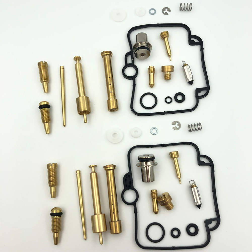2 Set Carburetor Repair Rebuild Kit Mikuni BST 33 Carburetors For BMW F650 1993-2000 94 95 96 97 98 99 For Suzuki GS500E GS500