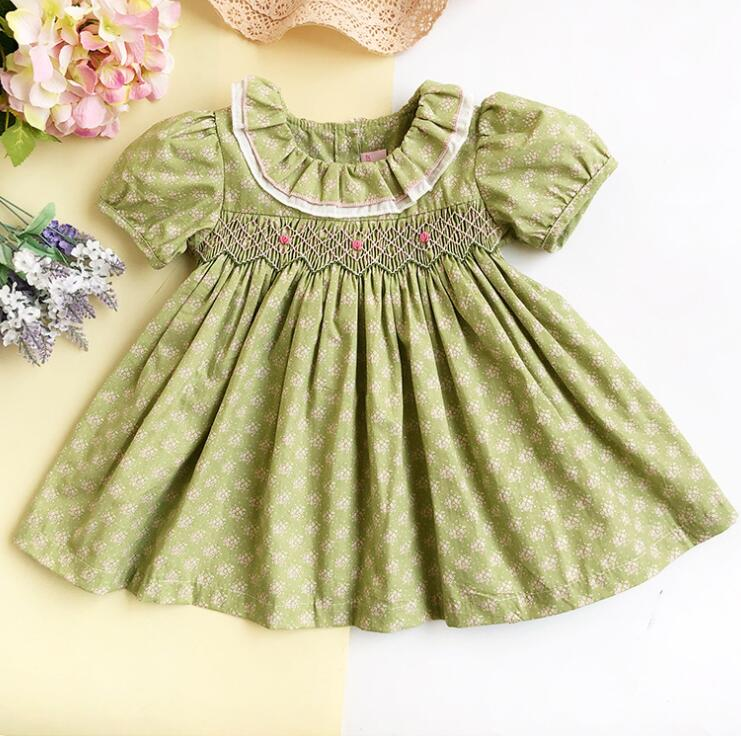 Girls Christmas Dresses Foral Princess Dress Baby Clothing Infant Party Doll Day Dress Wedding Kid School Clothes For 1-3 Years