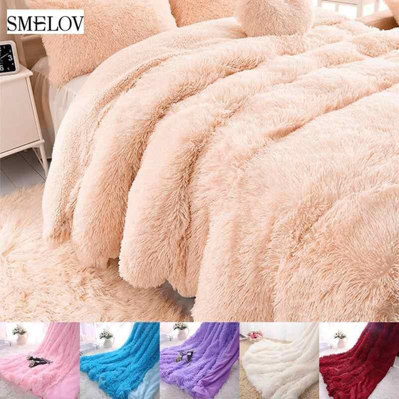 Luxury Warm Soft Throw Large Fleece Blankets Double King Size Sofa Bed Adult Kid