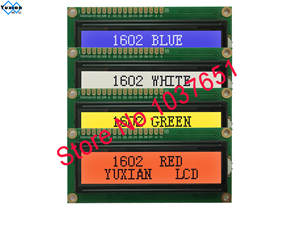 Serial-Module Lcd-Display 1602 1pcs Blue Green White Red 16x2 I2c-Interface IIC UNO R3