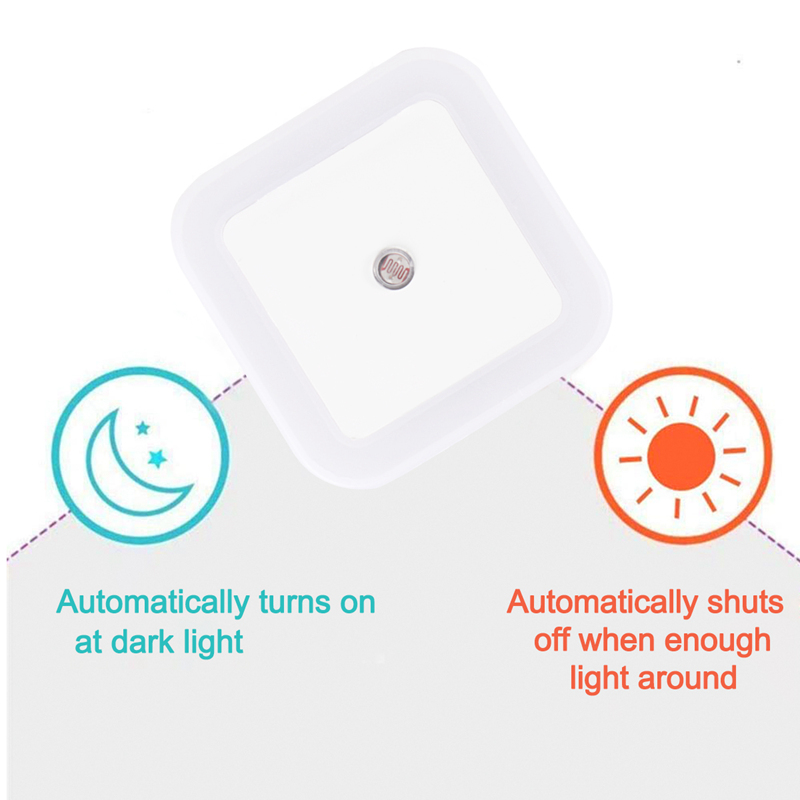 Wireless Led Night Light Sensor Lighting Mini Eu Us Plug Night Light Lamp For Children Kids Living Room Bedroom Lights Lighting Big Discount 913c Cicig