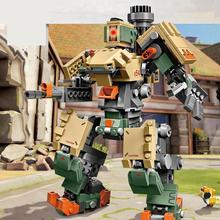 Sy1300 602pcs New Games Bastion Mecha Compatible Overwatching 75974 50005 Building Blocks Bricks Model Funny Toys For Kid Gifts цена
