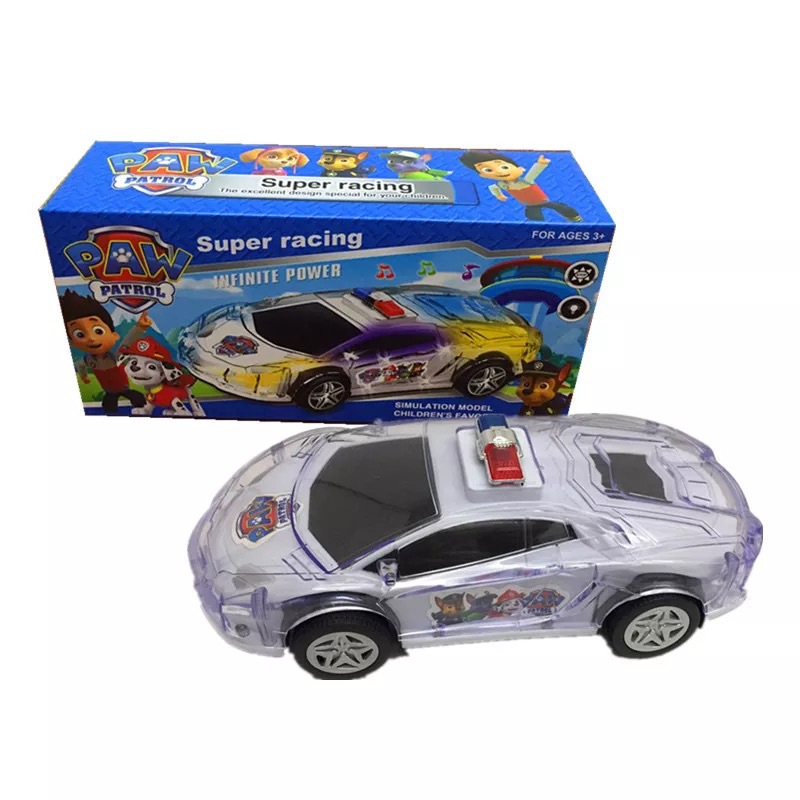 Electric Universal Light Car Model Spider-Man CHILDREN'S Toy Car Night Market Stall Supply Of Goods