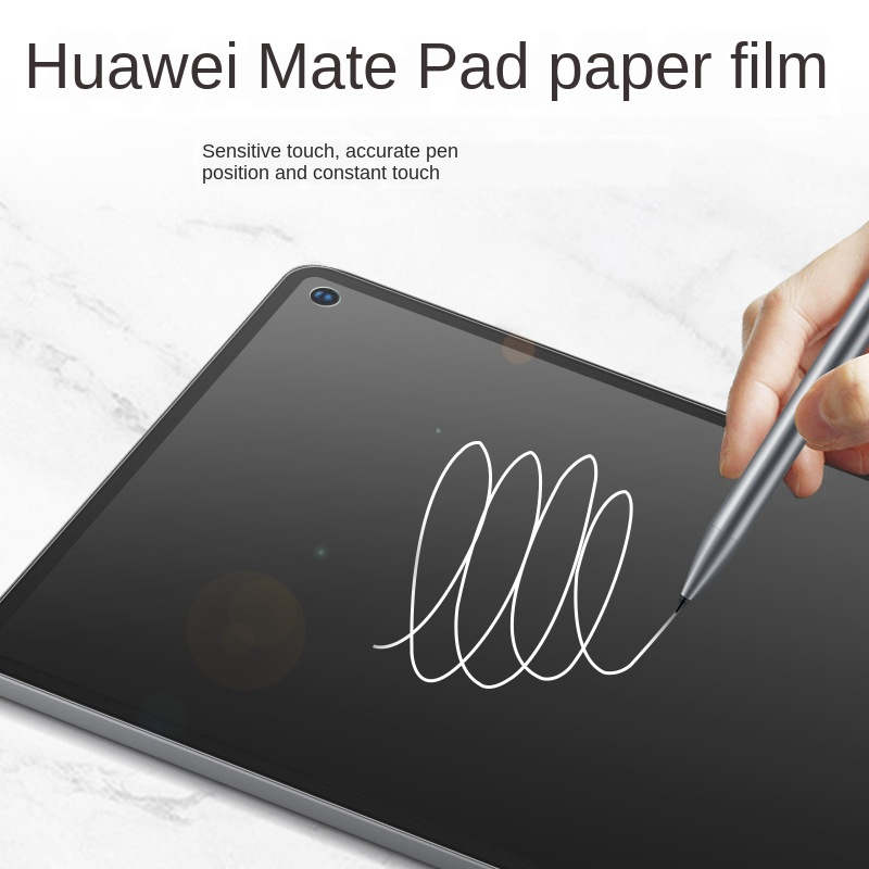 Huawei Matepad Class Paper Membrane Painted Film Matepad Pro Writing Film Dull Polish Textured Tablet Protective Film