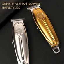 Kemei 1949 profesjonalna maszynka do włosów All Metal Men elektryczna maszynka do strzyżenia włosów 0mm Baldheaded T Blade Finish maszynka do strzyżenia