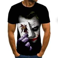 2021 homens horror preto amarelo moda nova verão masculina manga curta camiseta casual 3d zombie print rock para o homem cheio impresso