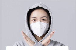 Hot Sale Fast Delivery KN95 Dustproof Anti-fog And Breathable Face Masks N95 Mask 95% Filtration Features as KF94 FFP2 4