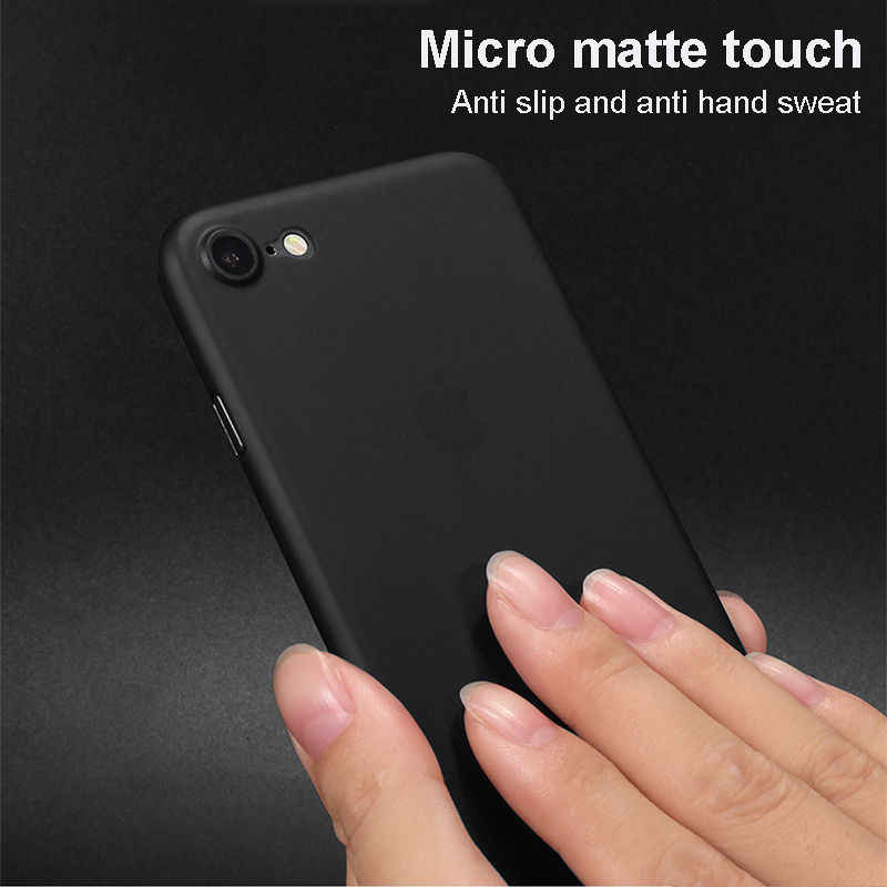 Matte Ultra Dunne Case voor IPhone 11 Pro X XR XS MAX 8 6 6s 7 Plus Schokbestendig Slanke terug Soft Cover Transparante Robuuste Protector