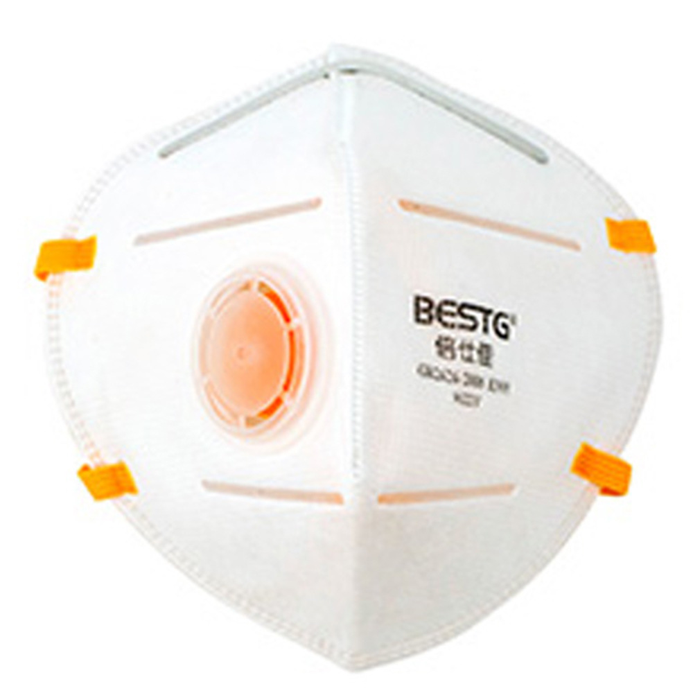 Bestg/bestg 9522 V Summer With Breather Valve Wearing KN95 Face Mask Anti-Dust Haze PM2.5 Industrial