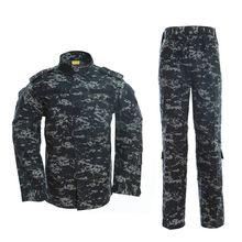 Мужской Камуфляжный костюм армии США камуфляжная куртка для