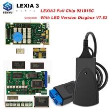 Lexia 3 Полный Золотой чип 921815C PP2000 Diagbox V7.83 Lexia3 PP 2000 для Citroen/peugeot OBD OBD2 автомобильный диагностический автоматический сканер инструмент