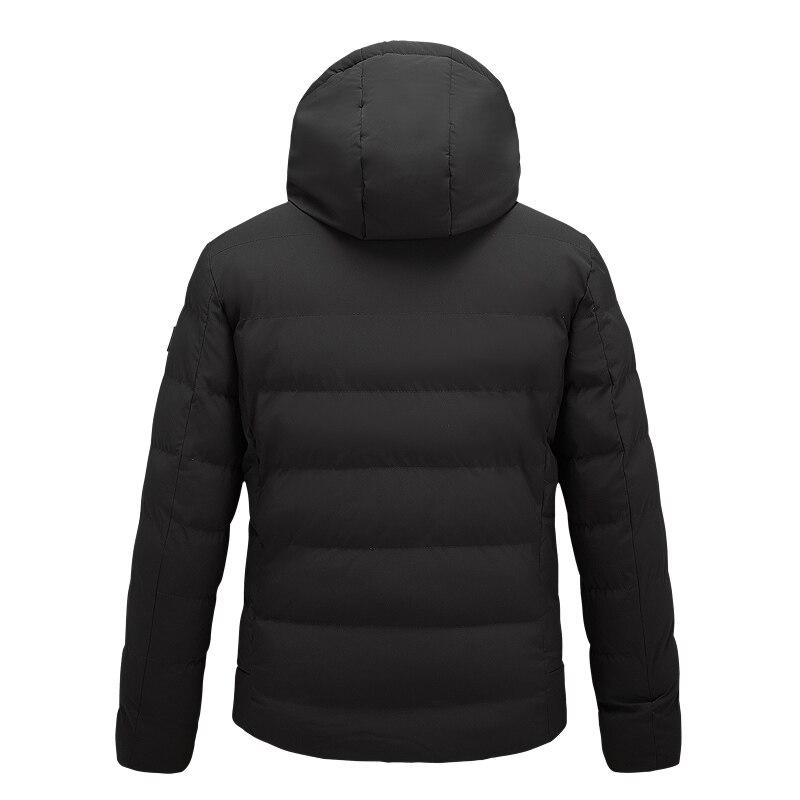 usb aquecimento infravermelho com capuz jaqueta unisex