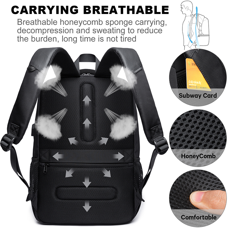 Image 4 - KAKA New Large Capacity 15.6 inch Daily School Backpack 