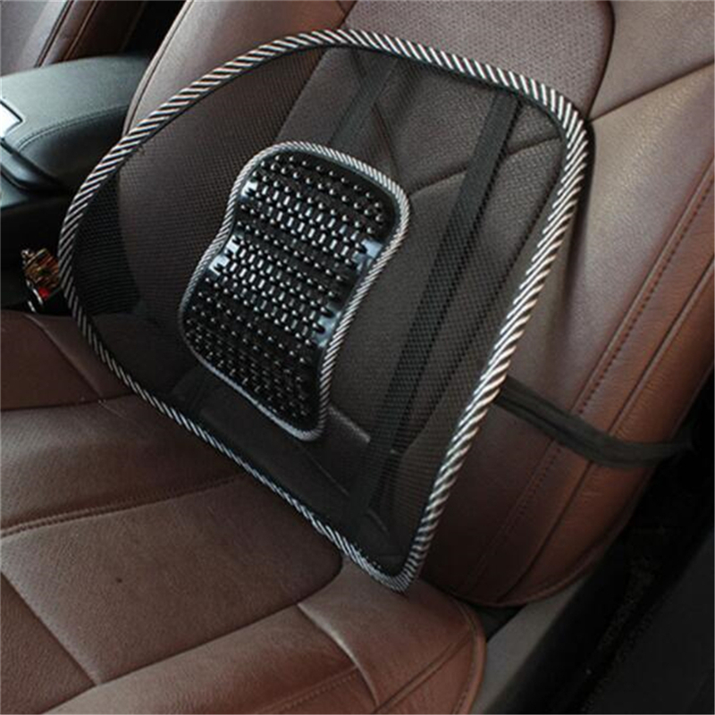 Car Seat Winter Pillows Lumbar Support Back Massager Waist Cushion For Chairs Home Office Relieve Pain