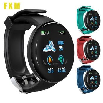 Women Men Sport Watch Smart Watch Fitness Tracker Blood Pressure Heart Rate Monitor Clock Smartwatch Waterproof Bracelet Reloj