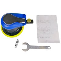 15000 RPM Mini Air Angle Sander Grinder Polisher Elecentric Pneumatic Polishing Grinding Machine with 5/125mm Sanding Pad