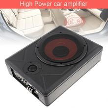 Универсальный черный Fuselage тонкий 8 дюймов 600 Вт Тонкий под сидением активный сабвуфер для автомобиля усилитель басов динамик