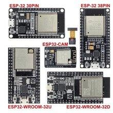 ESP32 Development Board WiFi+Bluetooth Ultra-Low Power Consumption Dual Core ESP-32 ESP-32S ESP 32 ESP32-CAM ESP-WROOM-32
