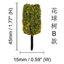 Фото - 45mm the Model Tree Moss Micro Landscape Simulation Flowers Tree Mini 5-Color Flower Tree ja ginn fourie the lyndi tree