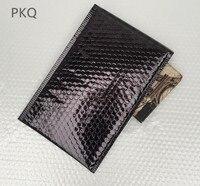 30Pcs 20x28cm Bright Black Bubble Envelopes Bag Poly Bubble Mailer Envelopes Padded Mailing Bag Business Supplies