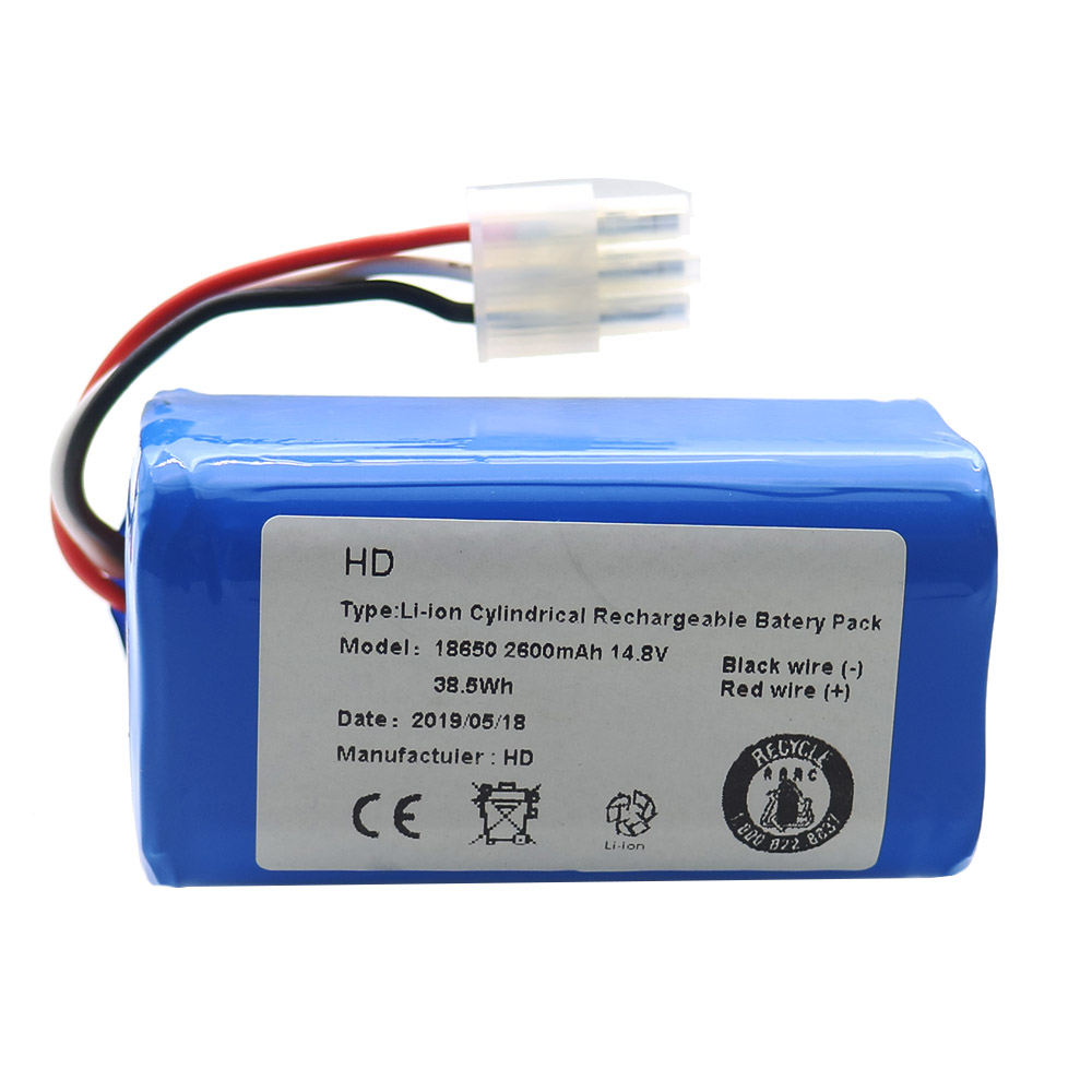 2600mAh Rechargeable Battery For ICLEBO ARTE YCR-M05 POP YCR-M05-P Smart YCR-M04-1 Smart YCR-M05-10 YCR-M05-30 YCR-M05-50