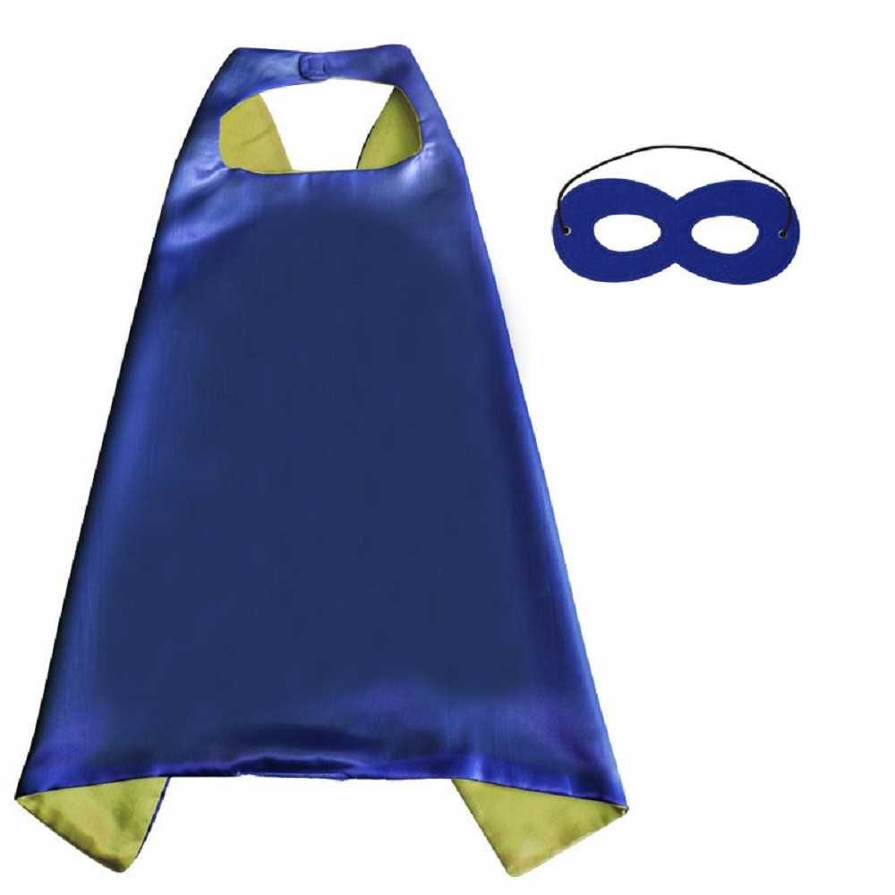 Super hero mantel masker verjaardagsfeestje jongens en meisjes cloakNew collectie: DIY capes met maskers