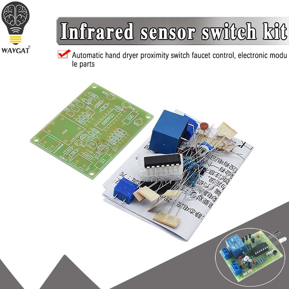 Infrared Proximity Switch Kit Control Switch Automatic Faucet Control Module U