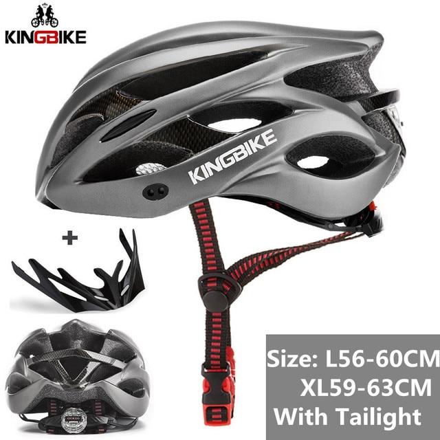KINGBIKE Sport Bike Helmet with Tail Light Cycling Helmet Safety Ultralight new