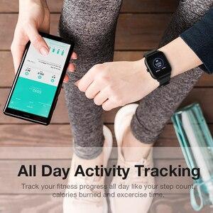 Image 4 - SANLEPUS Full screen touch Smart Watch Wristband Men Women Sport Watch Face Heart Rate Monitor Sleep Monitor IP67 Smartwatch