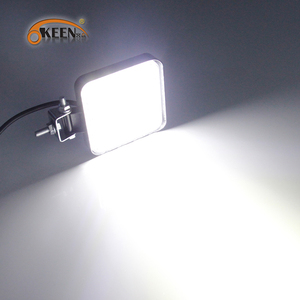 Image 5 - OKEEN 4pcs Car LED Bar Worklight 48W Offroad Work Light 12V Light Interior LED 4x4 LED Tractor Headlight Spotlight for Truck ATV