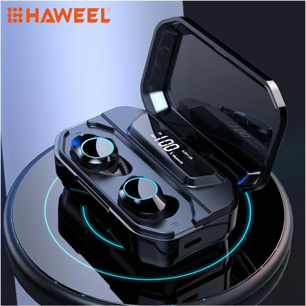 Écouteurs Bluetooth véritable affichage de LED sans fil 5.0 TWS écouteurs intra-auriculaires IPX5 étanche Mini casque 3D stéréo son Sport écouteur