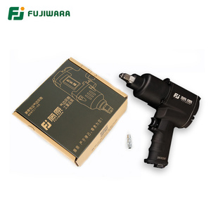 "Image 2 - FUJIWARA Air Pneumatic Wrench 1/2"" 1280N.M  Impact Spanner Large Torque Tire Removal Tool Nut Sleeves Pneumatic Power Tools"
