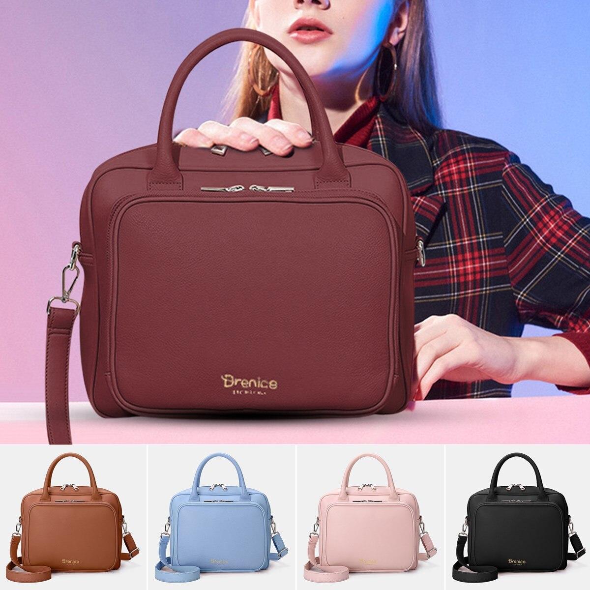 New Women Handbag Fashion Women Hand Bag Female Organize Bag Leather Multifunction Shoulder Bag Crossbody Bag Feminine Bolsa