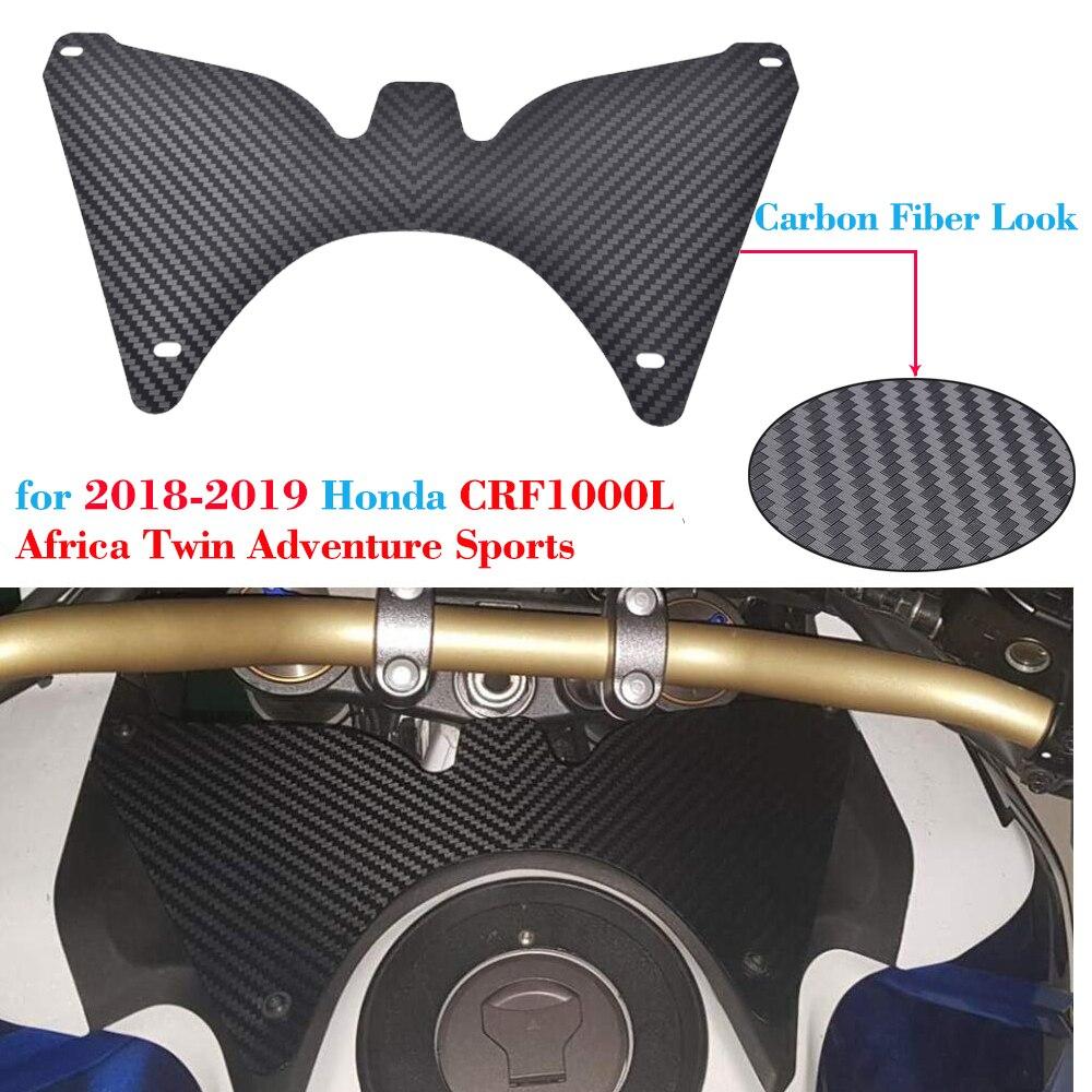 Moto 2018 2019 CRF1000L Африка двойной Forkshield верхний ветровой дефлектор чехол для Honda Африка двойной Спорт CRF 1000L CRF 1000 L