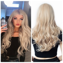 Natural Hair Wave Synthetic Wig