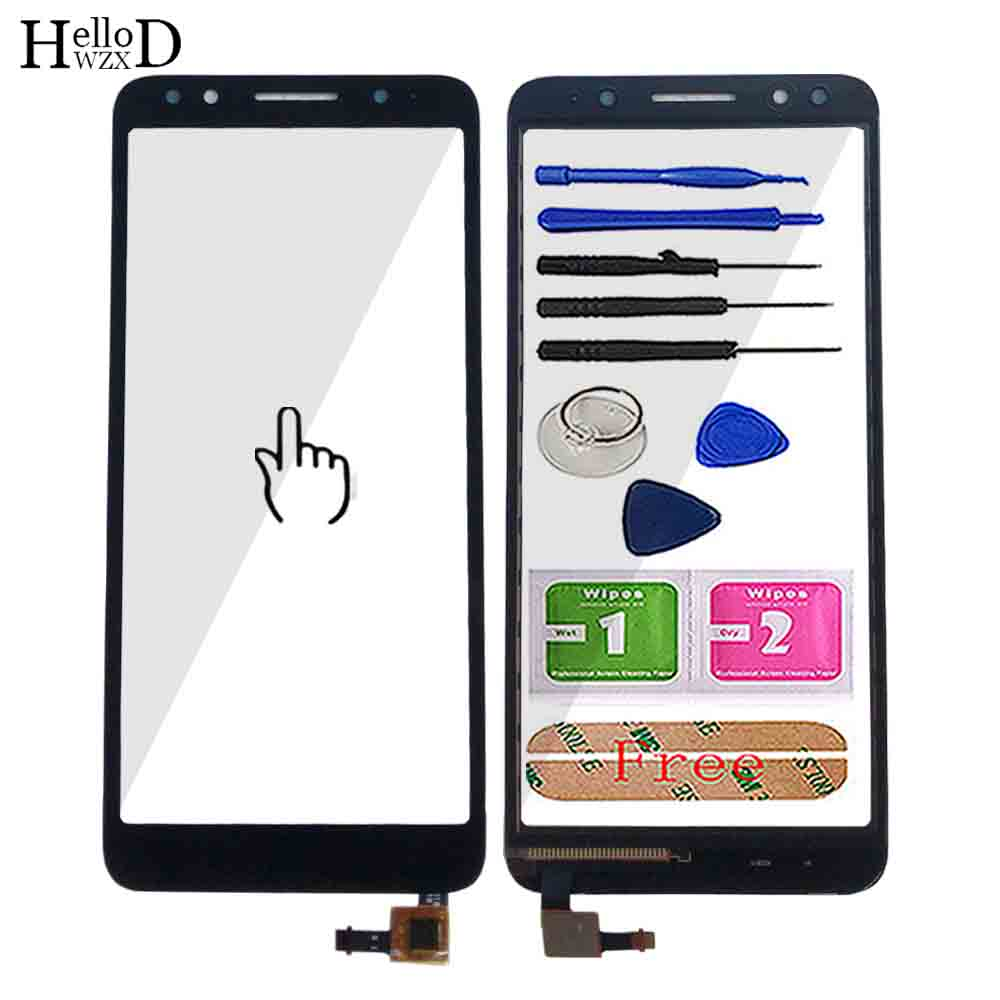 5.3'' Mobile Touch Screen For Alcatel 1X 5059D 5059 Touch Screen Glass Sensor Panel Glass For Alcatel 1X 5059D Cell Tools